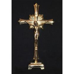 Crucifijo de metal 20 cm.