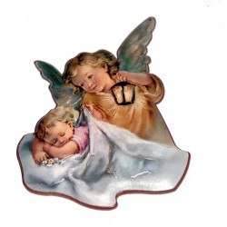 Iman Ángel con niño