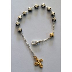Pulsera metal cruces
