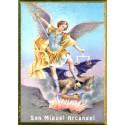 Icono San Miguel Arcángel 30x22