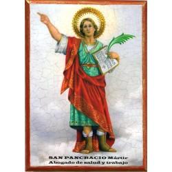 Icono San Pancracio 30x22