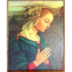 Icono Virgen María 43x31