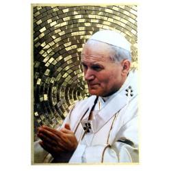 Cuadro oro Beato Juan Pablo II