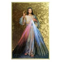 Cuadro oro Corazón de Jesus