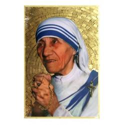 Cuadro oro Madre Teresa de Calcuta