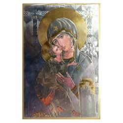 Cuadro oro Virgen María