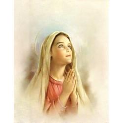 Virgen Niña 20x25