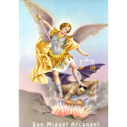 San Miguel Arcángel 21x30
