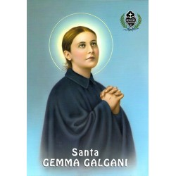 Santa Gema Galgani 21x30