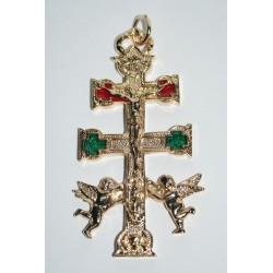 cruz caravaca dorada