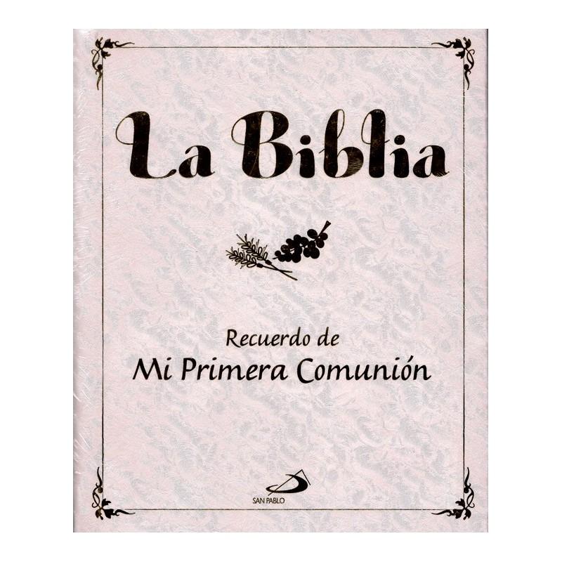 La biblia mi primera comunion