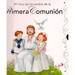 libro recuerdo comunion