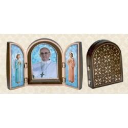Tríptico Papa Francisco
