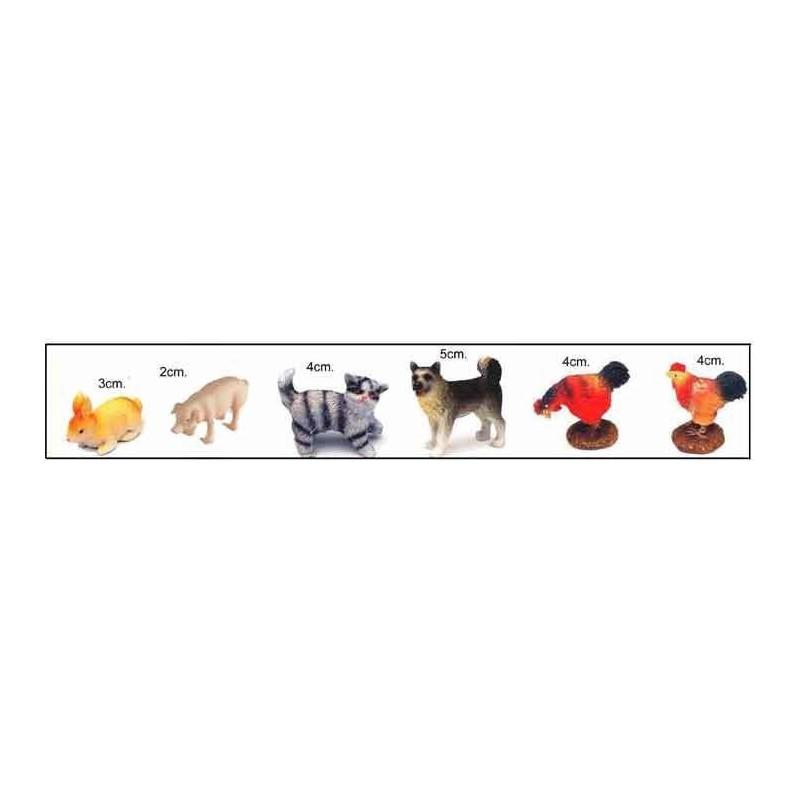 Animales surtidos