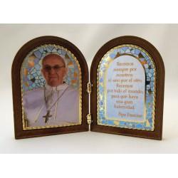 Díptico Papa Francisco