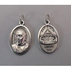 Medalla metal Papa Francisco