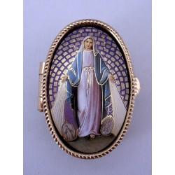 Pastillero Virgen Medalla Milagrosa