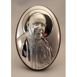 Cuadro plata San Juan XXIII