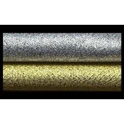 Tela brocada oro o plata