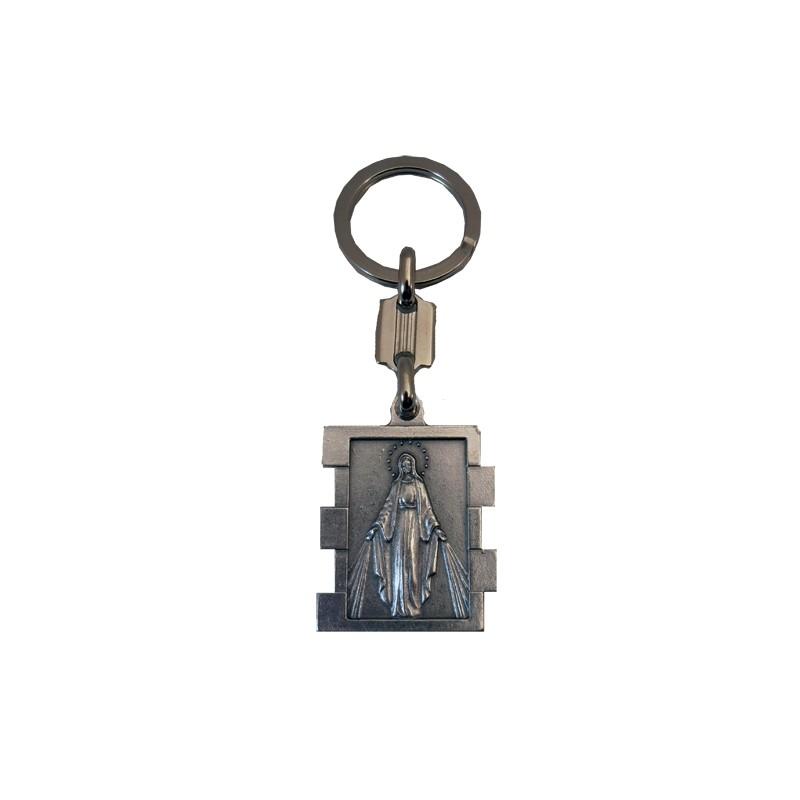 Llavero metal Virgen Milagrosa