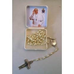 Rosario perla Papa Francisco