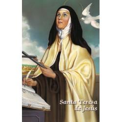 Estampa Santa Teresa de Jesús