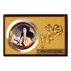 Placa coche Santa Teresa de Jesús