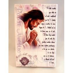 Cuadro madera Padre Nuestro