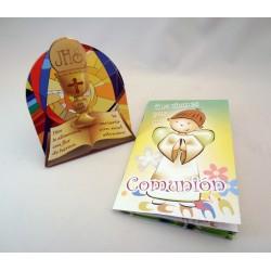 Cuadrito con libro de oraciones
