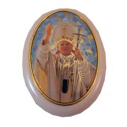 Cajita rosariera Juan Pablo II