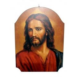 Cuadro de madera Rostro de Jesús
