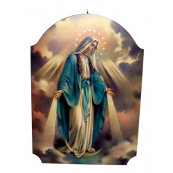 Cuadro de madera Virgen Milagrosa