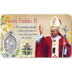 Estampa Juan Pablo II