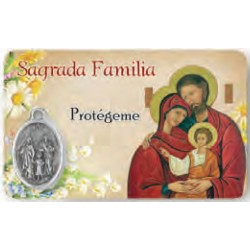 Estampa Sagrada Familia