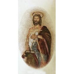 Paño de atril San Juan Bautista (gobelin)