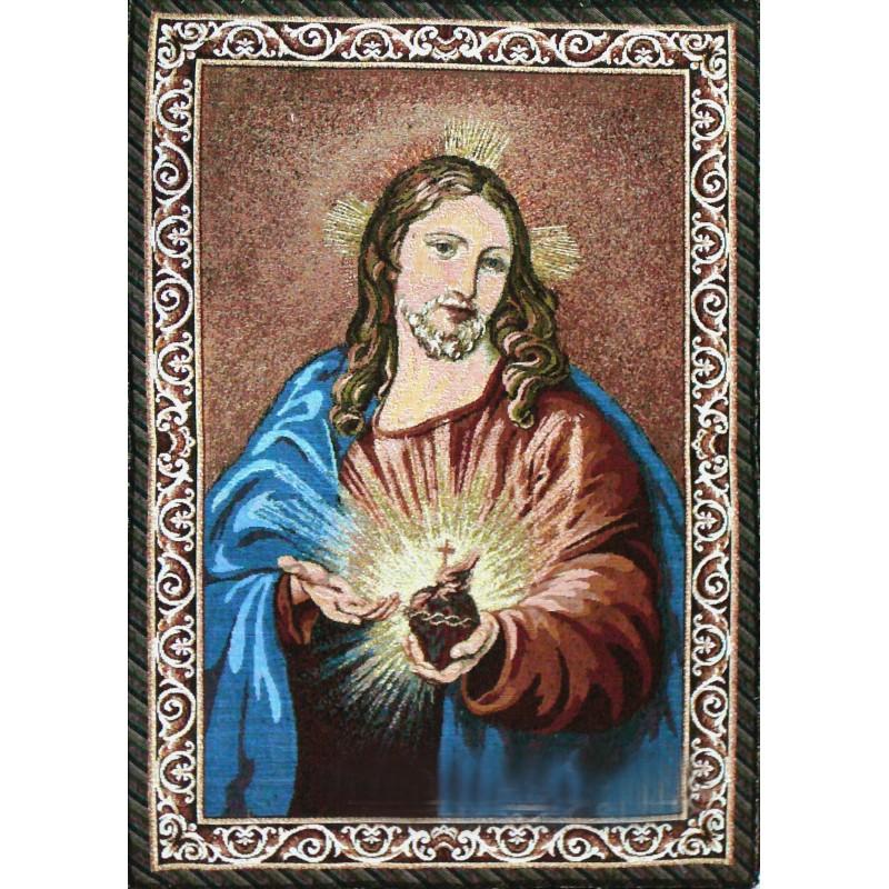 Tapiz Corazón de Jesús (gobelin)
