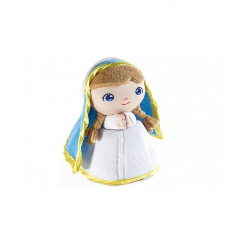 Peluche Virgen María 22cm.