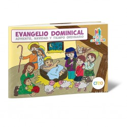 Evangelio dominical para colorear
