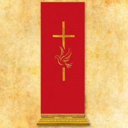 Cubre ambón bordado Espíritu Santo