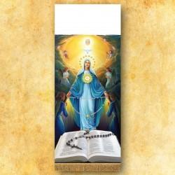Cubre ambón fotográfico Virgen Milagrosa