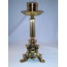Candelabro bronce 30 cm