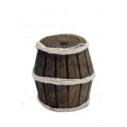 Barril madera 3 cm.