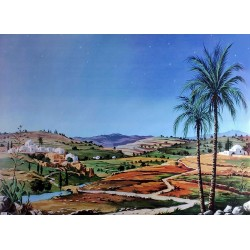Fondo paisaje hebreo