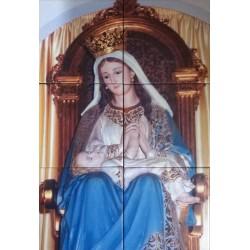 Mosaico Virgen Divina Providencia