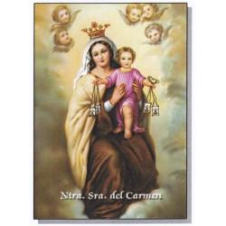 Virgen del Carmen 20x25