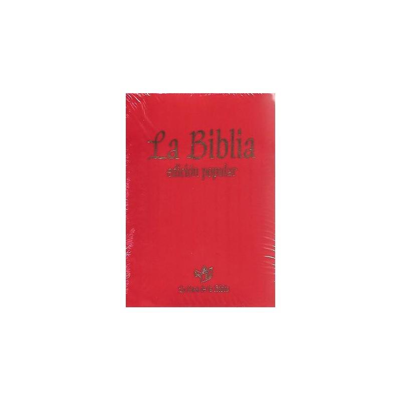 La Biblia – Edición Popular
