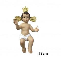 Niño Jesús 18 cm.