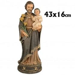 San José 43 cm.