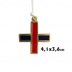 Cruz trinitaria 3,8 cm.
