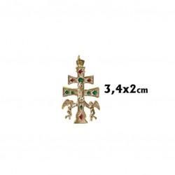 Cruz caravaca 3.5 cm.